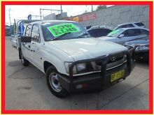 2003 Toyota Hilux LN147R MY02 White 5 Speed Manual Utility Holroyd Parramatta Area Preview