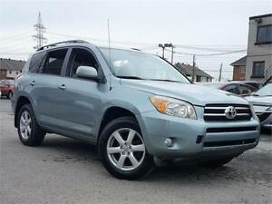 2007 Toyota RAV4 LIMITED 7PASS/4X4/MAGS/AC/CRUISE/GROUPE ELEC