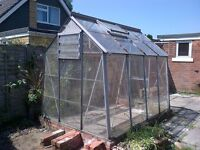 GREENHOUSE, IPSWICH - FREE to whoever will dismantle and collect