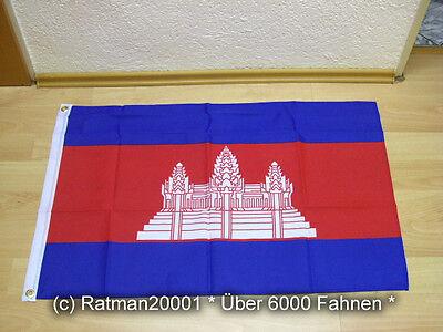 Fahnen Flagge Kambodscha - 60 x 90 cm