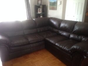 Grand sofa sectionnelle