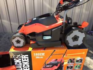 Electric lawn mower - Black & Decker West Beach West Torrens Area Preview