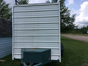 Enclosed trailer 14x6 ft with ramp 4200$ obo.