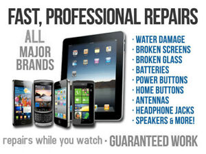 *Cellphone, Apple or Samsung/ any IPAD Repair services Guarantee
