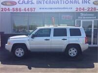 2009 Jeep Patriot North only $7,990