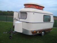1979 Eriba Puck caravan