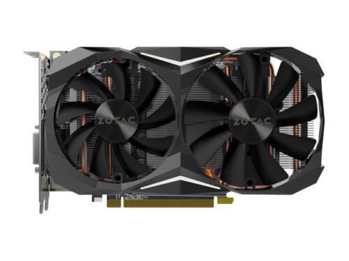 ZOTAC GeForce GTX 1080 Mini, ZT-P10800H-10P, 8GB GDDR5X IceStorm Cooling, Dual F 2