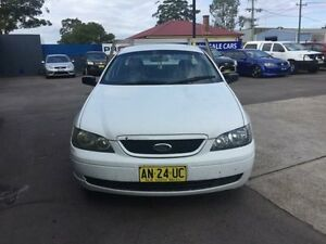 2003 Ford Falcon BA XL Automatic Cab Chassis Sandgate Newcastle Area Preview