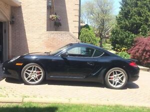 2009 Porsche Cayman S, PDK, Chrono, Black on Black