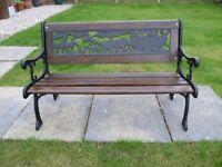 Garden Bench/Seat - Childrens Miniature size