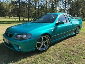 2007 Ford Falcon BF Mk II XR6 Ute Super Cab by Craig Lowndes Green 4 Speed Sports Automatic Utility Herston Brisbane North East Preview