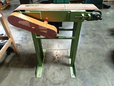 High Speed Discharge Belt Conveyor 8 X 36 Woodworking Machinery