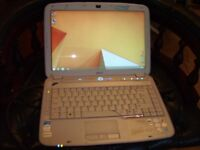 ACER ASPIRE 4920 HOME THEATRE WINDOWS 8,ANTIVIRUS LAPTOP VGC 120GB HDD 2GB DDR NEW SCREEN VGC