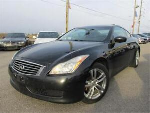 2008 INFINITI G37 *LEATHER,SUNROOF,NO ACCIDENTS!!!*