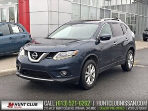 2015 Nissan Rogue SV AWD | Pano Moonroof, Htd Seats, Rear Camra
