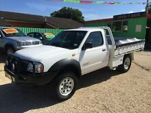 2003 Nissan Navara d22 White Manual Cab Chassis Islington Newcastle Area Preview