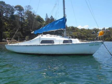 Endeavour 24ft cheap sailing or mooring minder