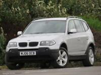 BMW X3 2.0d 2006MY Sport FULL LEATHER