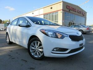 2014 Kia Forte LX+, A/C, BT, HTD. SEATS, ALLOYS, 32K!