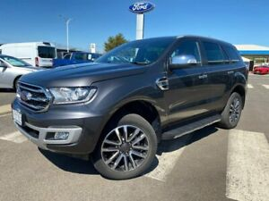 2019 Ford Everest UA II 2019.00MY Titanium 4WD Grey 10 Speed Sports Automatic Wagon Kilmore Mitchell Area Preview