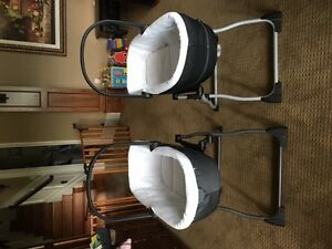 Peg Perego Bassinet & Stand ($150 for set) - 2 sets for sale
