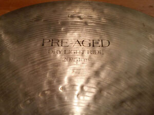 20'' Pre-Aged Zildjian Dry Light Ride