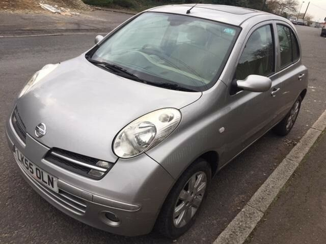 nissan micra 2005 petrol 1 4 silver for sale in enfield london gumtree. Black Bedroom Furniture Sets. Home Design Ideas