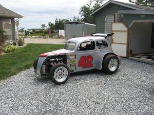 legend drag car