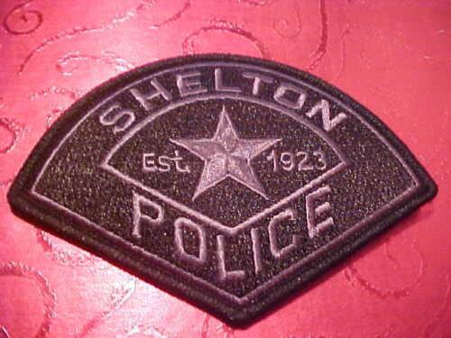 SHELTON WASHINGTON S.W.A.T. POLICE PATCH SHOULDER SIZE UNUSED **************