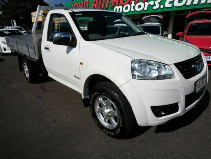2012 Great Wall V240 K2 MY11 (4x2) White 5 Speed Manual Cab Chassis Mount Gravatt Brisbane South East Preview