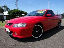 2002 Holden Commodore VY SS Red 4 Speed Automatic Utility Bungalow Cairns City Preview