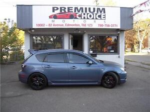 2008 Mazda 3 speed TURBO** LOW KMS*WILL PAY $250 FOR REFERRALS!!