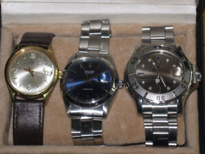2 ROLEX TUDOR, 1 ROLEX PRECISION 6500$ POUR TOUT--FOR ALL