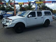 2011 Nissan Navara D40 ST-X 550 (4x4) White 7 Speed Automatic Dual Cab Utility Hillcrest Port Adelaide Area Preview