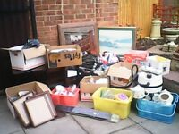 job lot of house old items /car boot