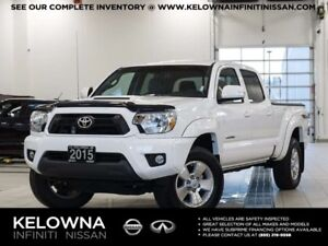 2015 Toyota Tacoma TRD Sport V6 DoubleCab 4WD w/Leather