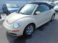 VOLKSWAGEN NEW BEETLE CONVERTIBLE 2007 (MANUELLE, AIR CLIMATISÉ)