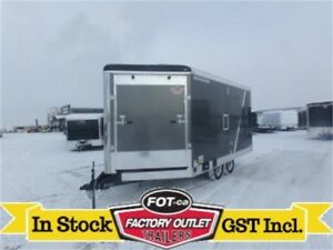 8.5 x 18 Insulated & Heated Sled Trailer *110-Volt Package*