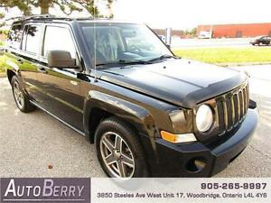 2009 Jeep Patriot SPORT 4WD *** CERTIFIED ** LOW KM*** $7,999