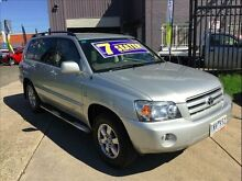 2005 Toyota Kluger MCU28R Upgrade CVX (4x4) 5 Speed Automatic Wagon Brooklyn Brimbank Area Preview