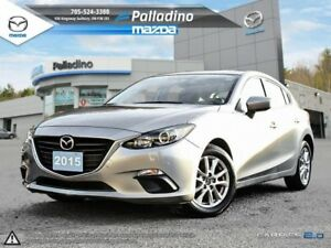 2015 Mazda Mazda3 GS- 5 STAR SAFETY RATING!