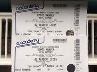 Roots Manuva - 2 tickets @ O2 Academy Leeds