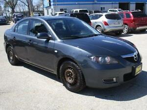 2008 MAZDA 3 GS, SAFETY & WARRANTY $5,450