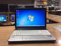Fujitsu Lifebook A530 Core i3 2.53GHz 4GB Ram 250GB HDD Web Win 7 Laptop