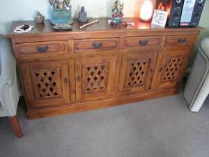 Buffet - 4 drawers and 4 doors solid East west type styling Bicton Melville Area Preview