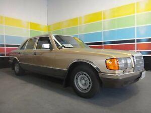 1982 Mercedes-Benz 380 SEL Gold Beige 4 Speed Automatic Sedan Wangara Wanneroo Area Preview