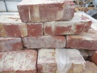 RECLAIMED BRICKS 3inch Pressed