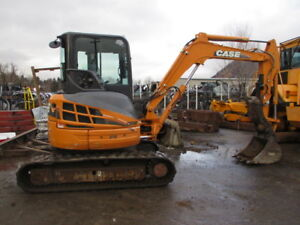 2012  Case CX 50 Excavator with Hydraulic Thumb