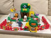 Large Little People Zoo set by Fisher Price