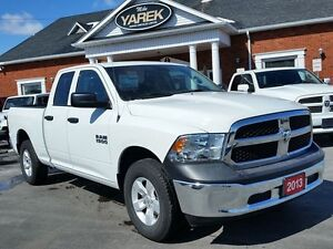 2013 Ram 1500 SXT 4x4, V6, Auto, One Owner, Local Trade